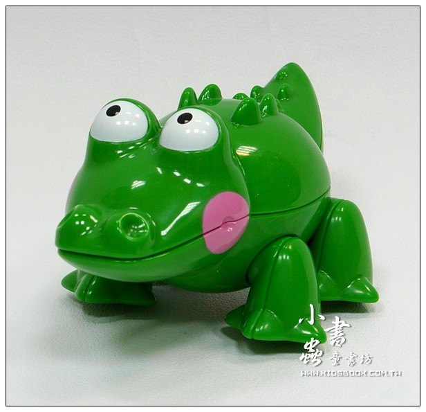 內頁放大:小鱷魚:TOLO動物公仔(現貨數量:2)絕版品