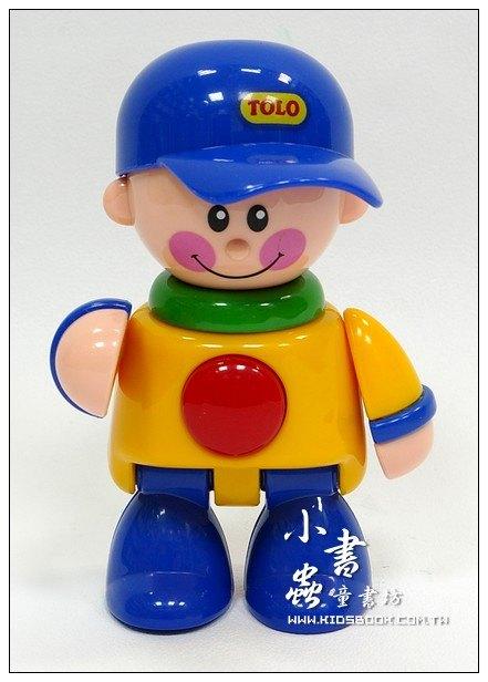內頁放大:棒球帽男孩(藍帽子):TOLO人物公仔(現貨數量:1)絕版品