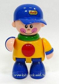 棒球帽男孩(藍帽子):TOLO人物公仔(現貨數量:1)絕版品