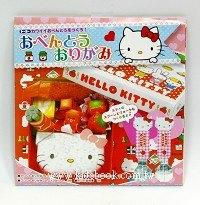 日本色紙:HELLO KITTY便當組材料包