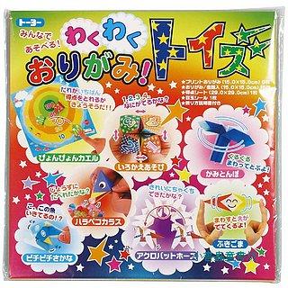 日本摺紙材料包:紙童玩