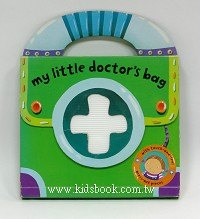 寶寶手提觸摸拼圖書:My little doctor,s bag