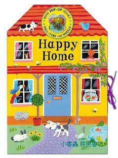 360度立體書:HAPPY HOME