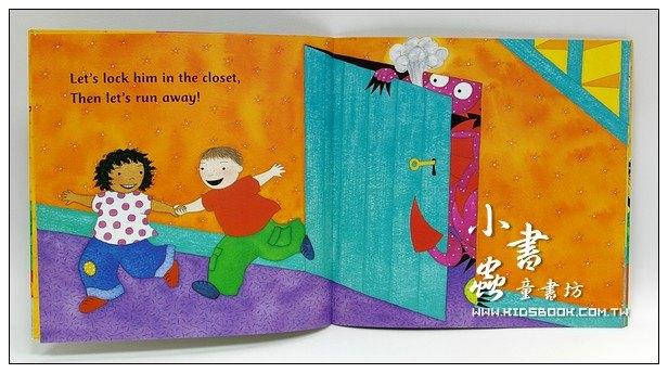 內頁放大:快樂讀唱繪本:A Dragon on the Doorstep(平裝書+CD)