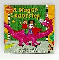 快樂讀唱繪本:A Dragon on the Doorstep(平裝書+CD)