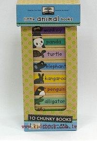 寶寶小小硬頁書:Little animal books(動物篇)