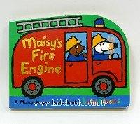 小鼠波波軋形書:maisy,s fire engine