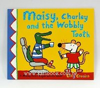 小鼠波波和牙醫:maisy,charley and the wobbly tooth(平裝書)