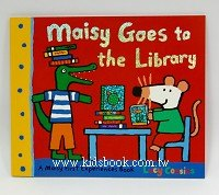 小鼠波波繪本故事:maisy goes to the Library(波波去圖書館)(平裝)