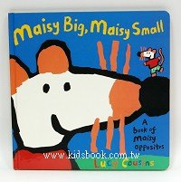 小鼠波波認知書:maisy big,maisy small(相反詞)