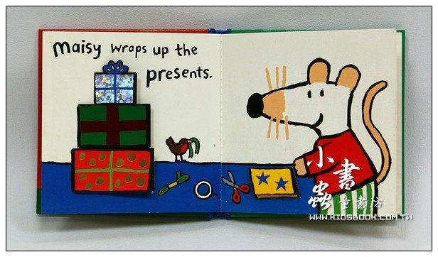 內頁放大:小鼠波波翻翻書:Happy Christmas maisy(口袋書)