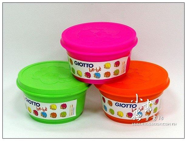 內頁放大:義大利 GIOTTO:BEBE超軟黏土(亮色)粉紅、橘、青綠