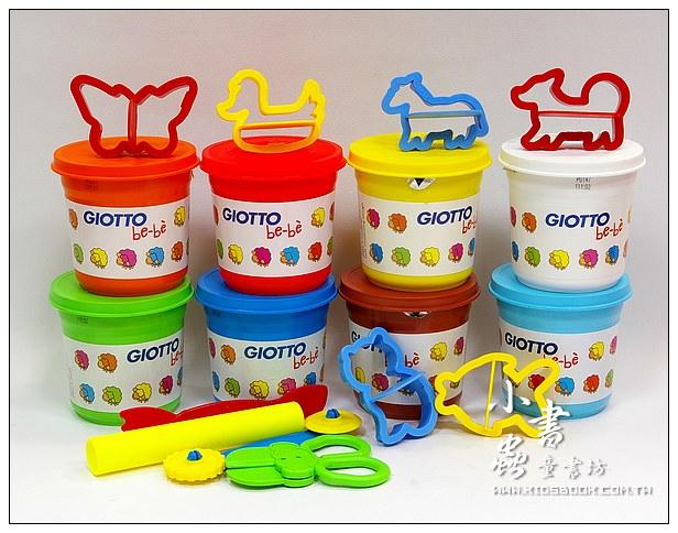 內頁放大:義大利 GIOTTO:BEBE超軟黏土派對(量販包)