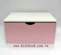 抽屜收納櫃─粉紅(單抽)(不適用貨到收款)