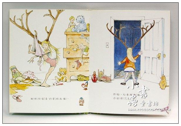 內頁放大:妞妞的鹿角(79折)