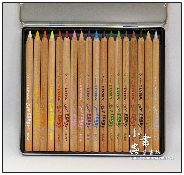 內頁放大:德國LYRA─粗三角色鉛筆(原木18色)17.5cm