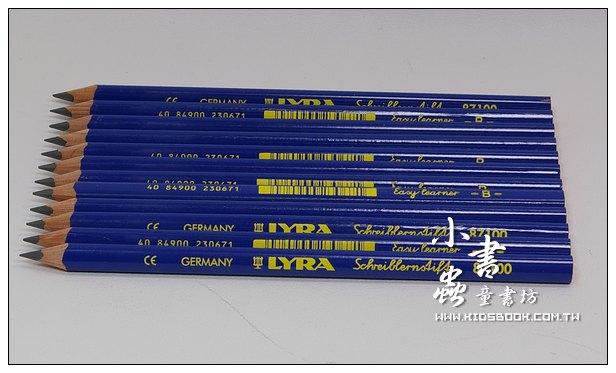 內頁放大:德國LYRA:兒童三角學習筆(12枝)