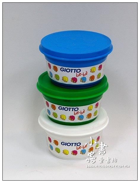 內頁放大:義大利 GIOTTO:BEBE超軟黏土(基本色)綠、藍、白