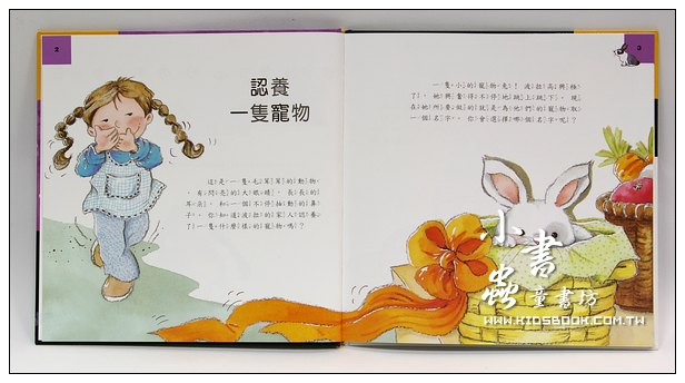 內頁放大:我們的新寵物─兔子