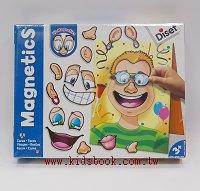 磁鐵遊戲:變臉先生、變臉小姐
