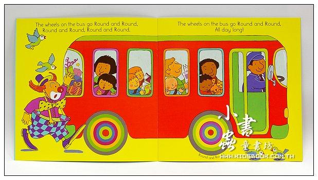 內頁放大:讀、唱繪本:The Wheels On The Bus(平裝書+CD)