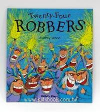 讀、唱繪本:Twenty Four Robbers (平裝書+CD)