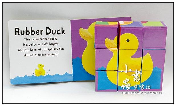 內頁放大:六面拼圖+書:My Toy Box禮盒組(現貨數量:1)
