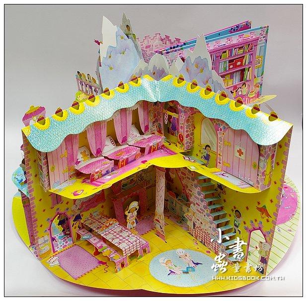 內頁放大:花仙子豪華立體劇場遊戲書8:MY FAIRY MAGIC SCHOOL