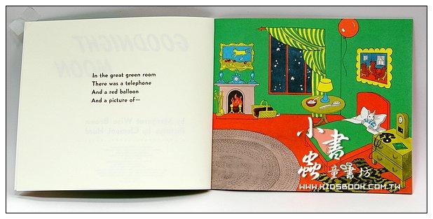 內頁放大:GOODNIGHT MOON(平裝書+CD)