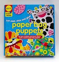 親子DIY:紙袋玩偶