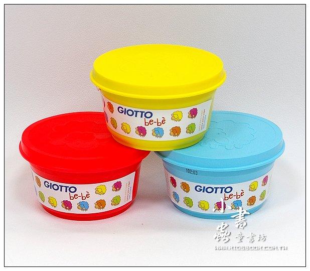 內頁放大:義大利 GIOTTO:BEBE超軟黏土(主色)紅、黃、藍(加贈黏土工具組四件)