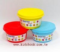 義大利 GIOTTO:BEBE超軟黏土(主色)紅、黃、藍(加贈黏土工具組四件)