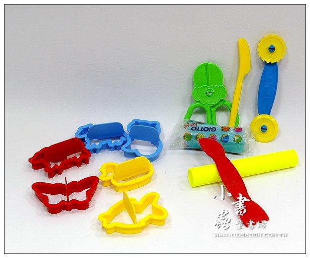 內頁放大:義大利 GIOTTO:BEBE寶寶黏土工具組