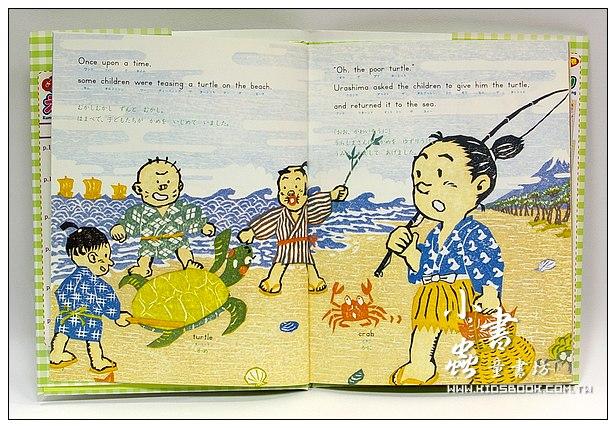 內頁放大:英、日文經典童話5(附英、日文故事CD及中文翻譯)