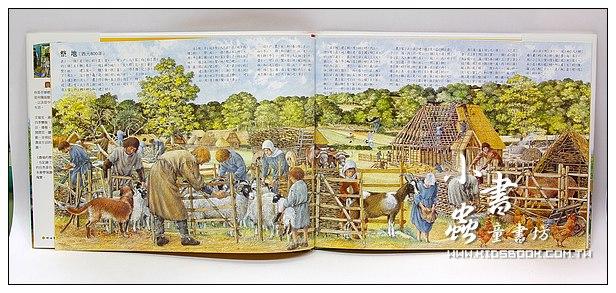 內頁放大:穿越時空歷史系列:農場的歷史:從中世紀到現代(特價79折)