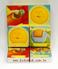 ALISON JAY,S NURSERY COLLECTION: FOUR FIRST QUESTION BLOCKS
