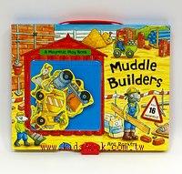 磁鐵遊戲書:Muddle builders