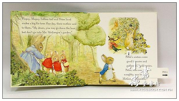 內頁放大:The Tale of Peter RABBIT(彼得兔精裝立體拉拉書)