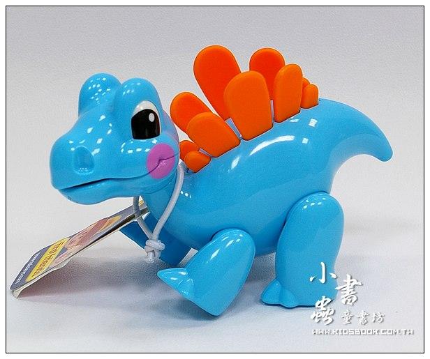內頁放大:劍龍:TOLO動物公仔(恐龍系列)