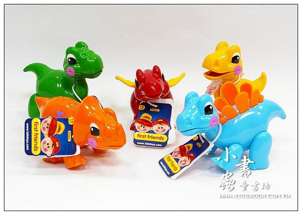 內頁放大:恐龍5合1:TOLO動物公仔(恐龍系列)