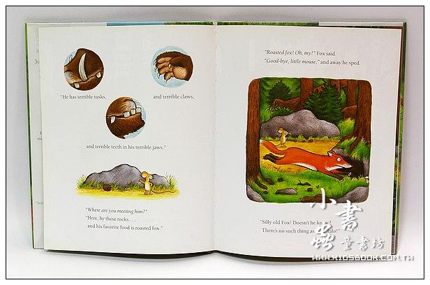 內頁放大:THE GRUFFALO怪獸古肥玀(平裝書+CD)
