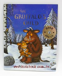 THE GRUFFALO,S CHILD(古肥玀和小猊猊) (平裝書+CD)