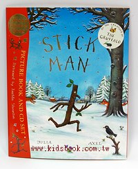 STICK MAN(平裝書+CD)