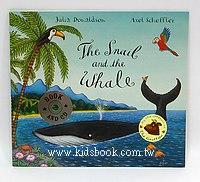 THE SNAIL AND THE WHALE小海螺和大鯨魚(平裝書+CD)