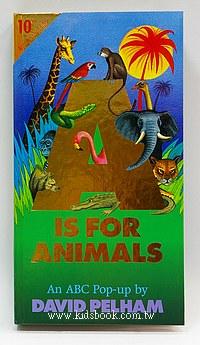 字母立體書A Is For Animals 10週年版