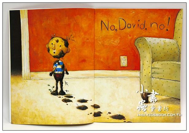 內頁放大:No,David(平裝本)(小毛不可以)