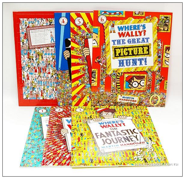 內頁放大:WHERE IS WALLY?WOW(威利在哪裡?典藏7合1~6書+1拼圖)