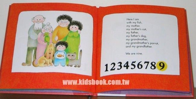內頁放大:Joshua,s Counting Book