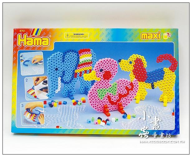 內頁放大:幼兒大拼豆創作組合:大象、鴨子、小狗