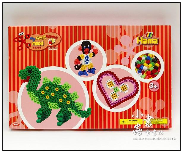 內頁放大:大豆豆創作組合:猴子、恐龍、愛心(1cm)